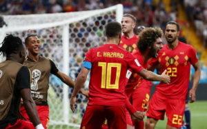 Belgium vs Japan highlights