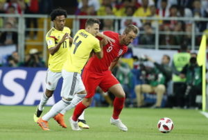 Colombia vs England highlights