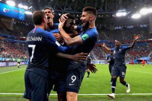 France vs Belgium highlights