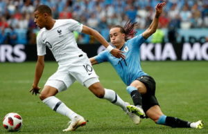 Uruguay vs France highlights