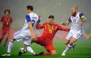 Belgium vs Iceland