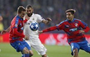 Viktoria Plzen vs Real Madrid