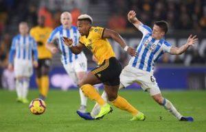 Wolves vs Huddersfield