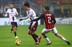 Milan vs Cagliari