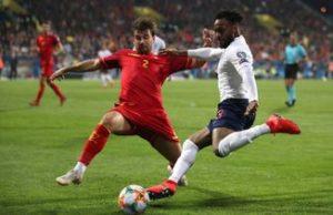 Montenegro vs England