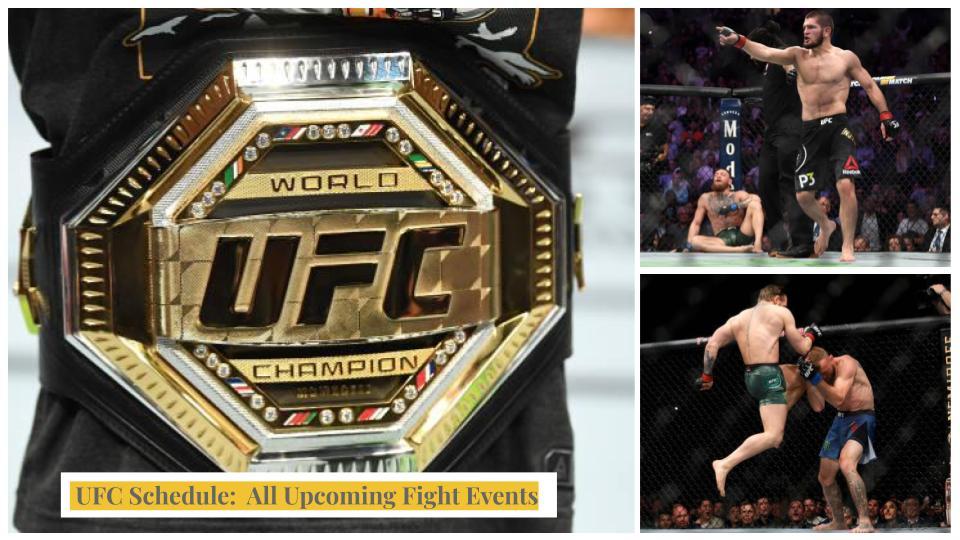 UFC TV Schedule